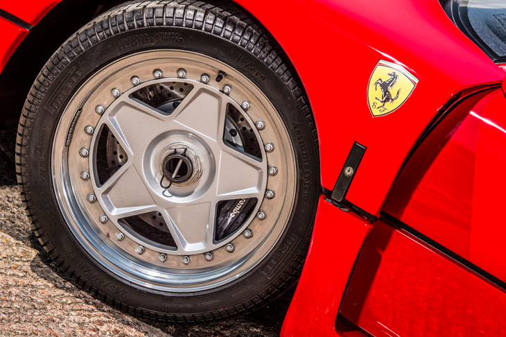 Ferrari F40 alloy wheel